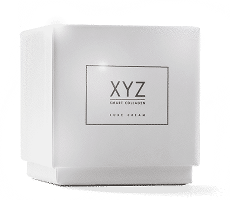 Box containing XYZ Smart Collagen Cream