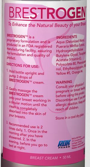 Brestrogen Ingredients