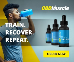 CBD Muscle Sidebar orders yours today