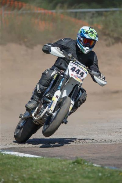 Chris Eastwood supermoto champ