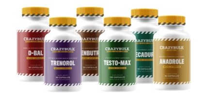 CrazyBulk Ultimate Stack Bottles