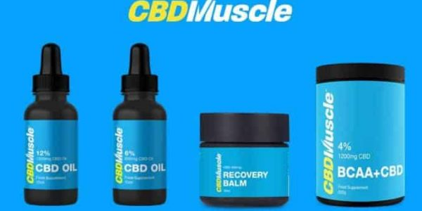 CBD Muscle Products - Oil, Recovery Balm, BCAA + CBD