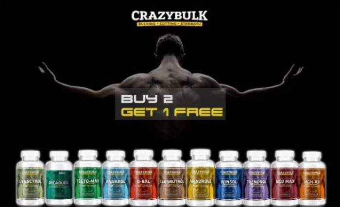 Crazy Bulk Steroids Buy 2 Get 1 Free