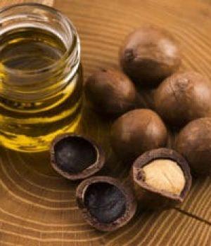 Macadamia nut oil