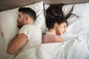 Opposite facing couple due to Erectile Dysfunction