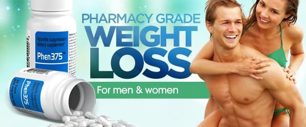 Phen375 pharmacy grade weight loss pills for both men and women banner