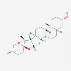 sarsasapogenin chemical formula