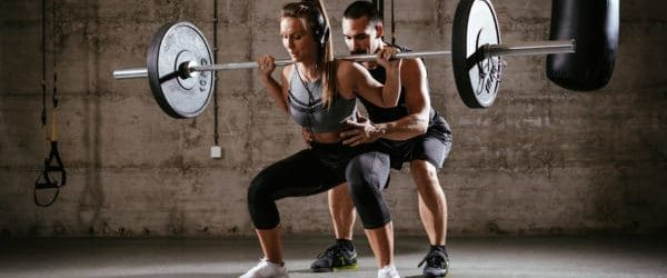 Doing squats for building muscle fast