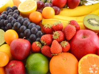 Fruits are rich in lignans which acts like estrogen