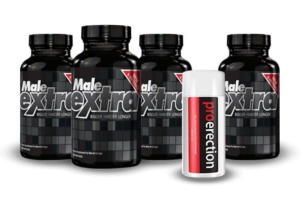 Male Extra pills with Pro Erection Gel