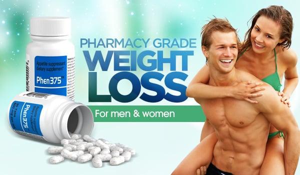 Phen375 pharmacy grade weight loss pills for both men and women banner
