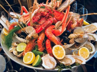 Seafood contains mangnaese and is vital for our body to function properly