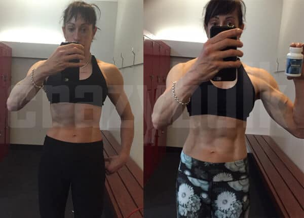 Sheena used Crazy Bulk Anvarol cutting legalsteroid