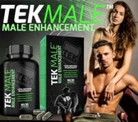 Tekmale Bottle of male enhancement pills