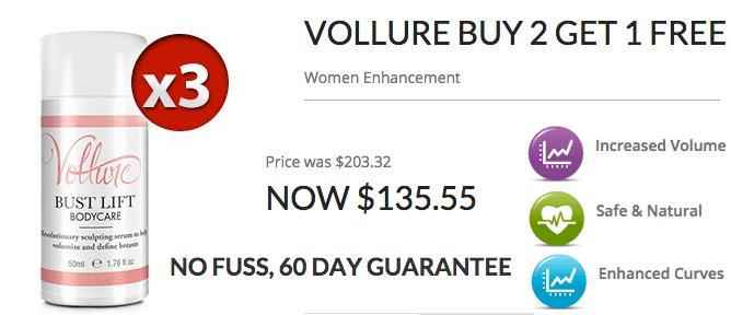Vollure Buy 2 Get 1Free
